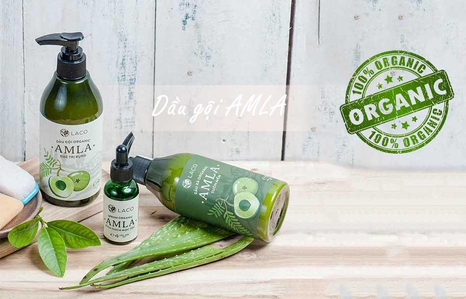 Dầu gội Amla - Sản phẩm hoàn toàn Organic
