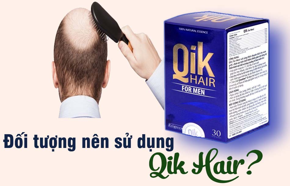 Đối tượng sử dụng qik hair