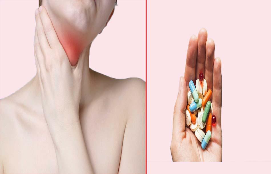 Điều trị viêm họng hạt có mủ bằng thuốc tây