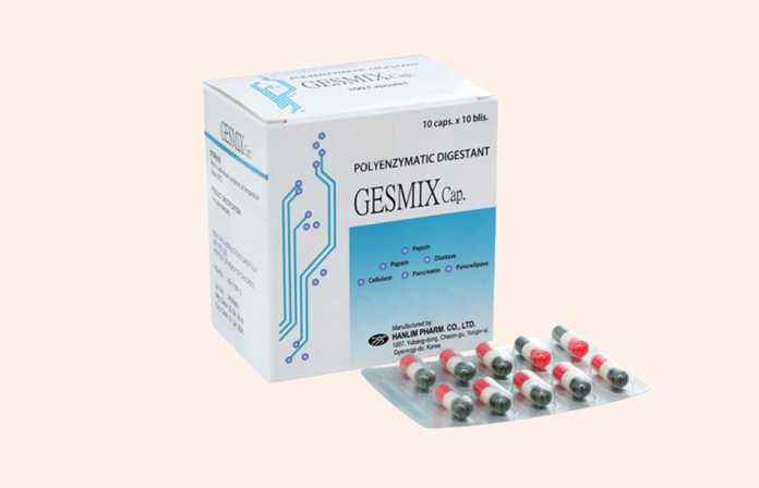 Thuốc Gesmix Cap