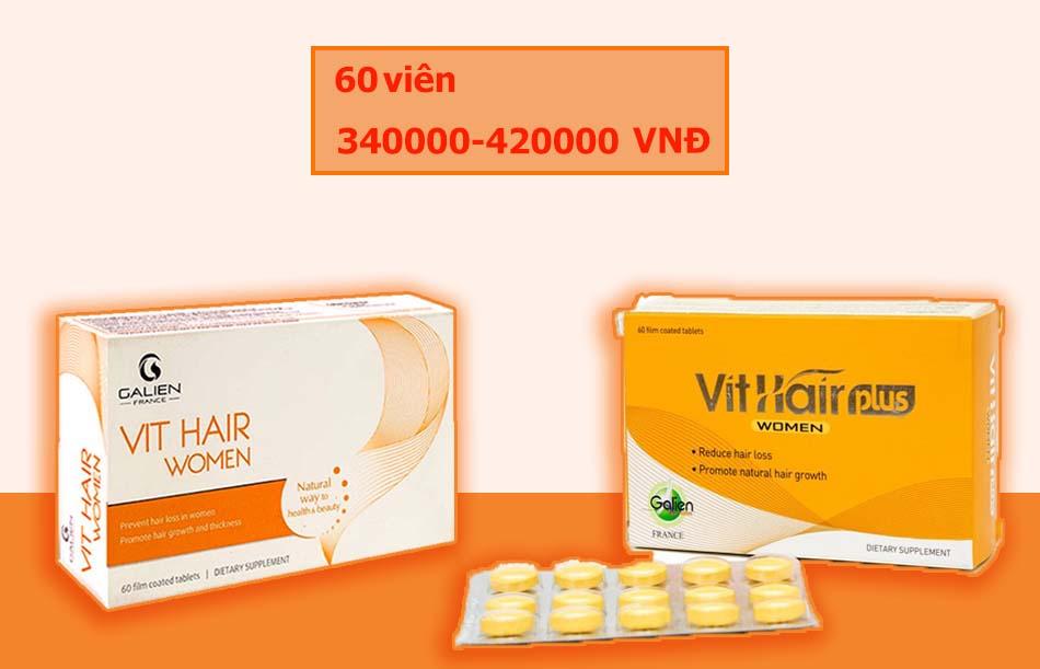 Giá Viên uống Vit Hair Women