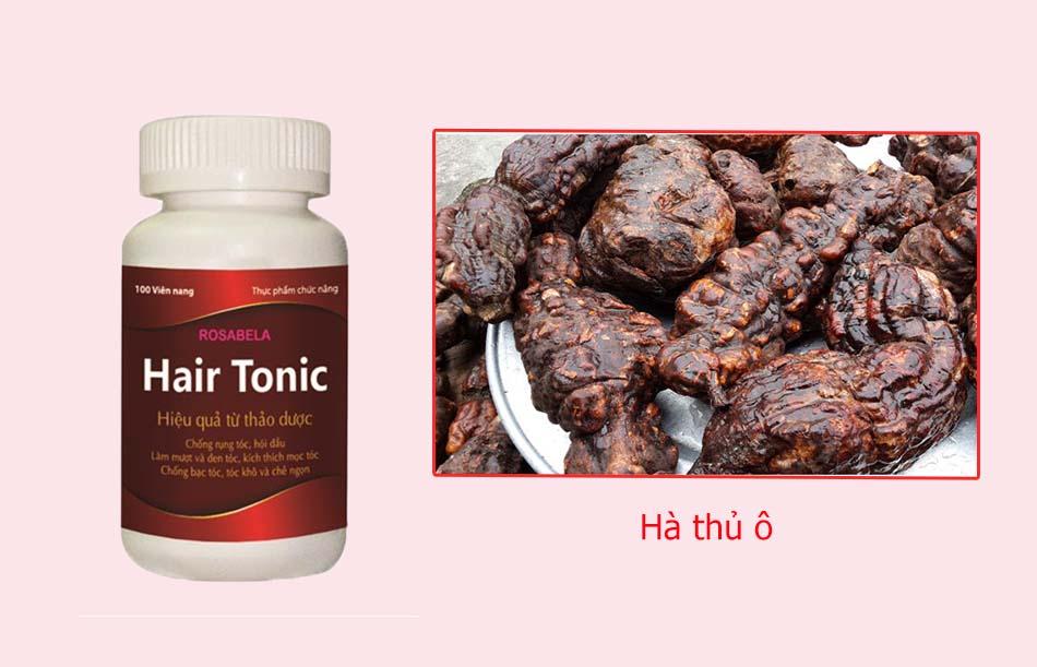 Hair Tonic có thành phần Hà thủ ô