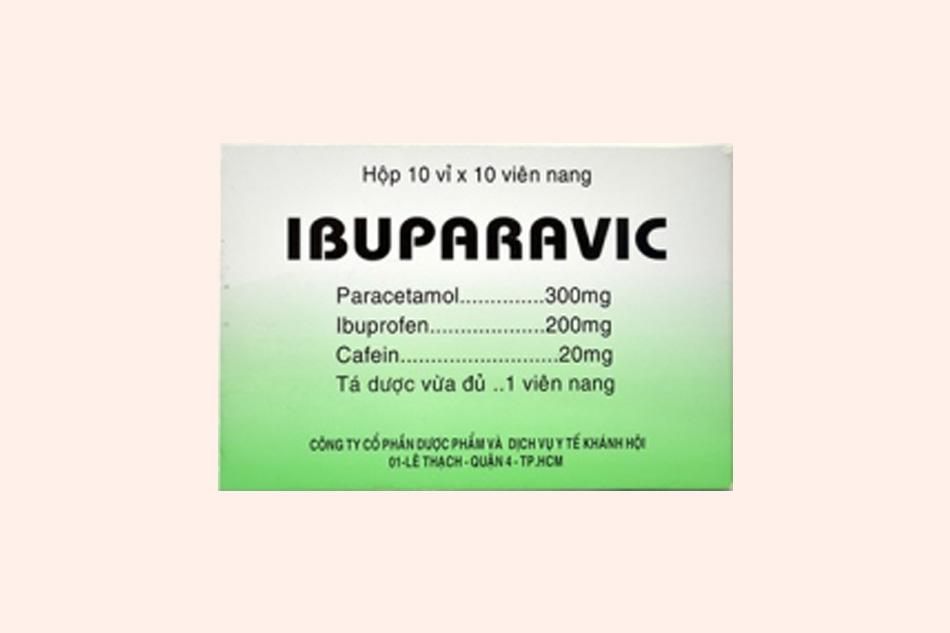 Hình ảnh hộp thuốc Ibuparavic