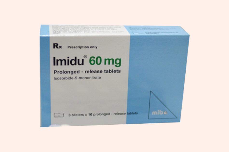 Hình ảnh hộp thuốc Imidu 60mg