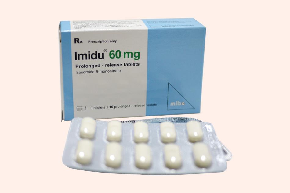 Hình ảnh vỉ thuốc Imidu 60mg