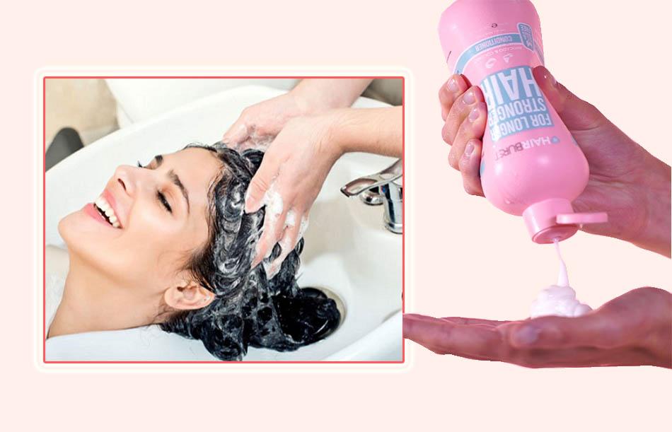 Lưu ý khi sử dụng dầu gội Hairburst