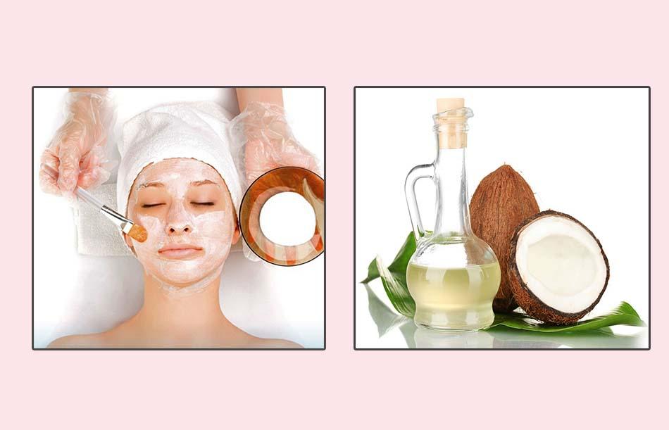 Mặt nạ dầu dừa với cốt chanh trị mụn ẩn hiệu quả