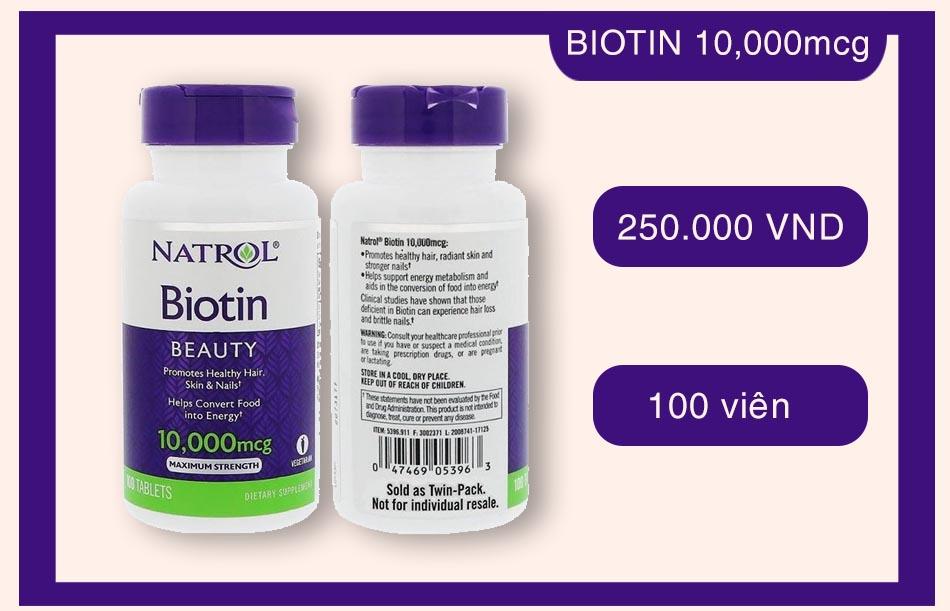 Natrol Biotin 10,000mcg