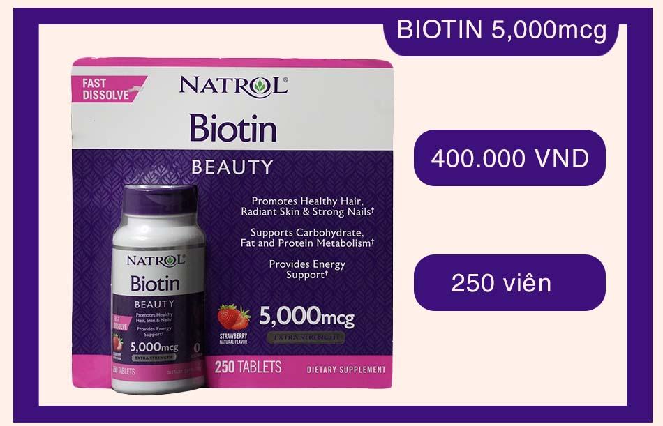 Natrol Biotin 5,000mcg