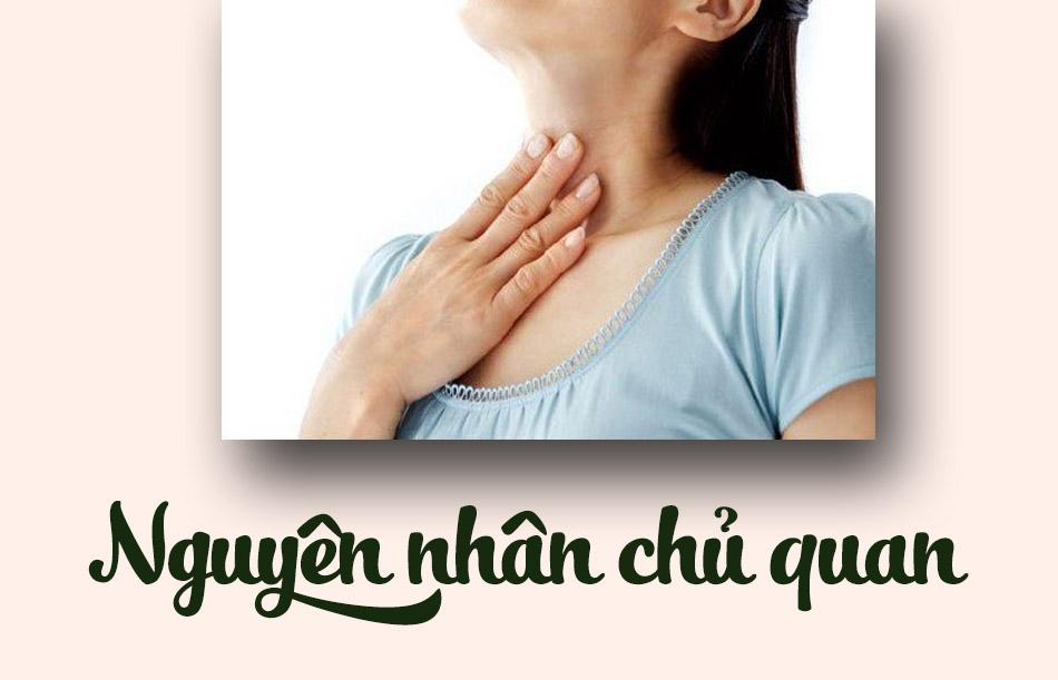 Nguyên nhân dẫn đến viêm họng hạt ở lưỡi