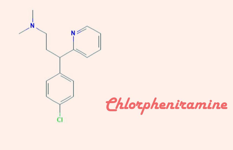 Công thức hóa học của Chlorpheniramine