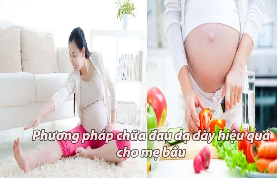 Phương pháp điều trị đau dạ dày hiệu quả cho mẹ bầu