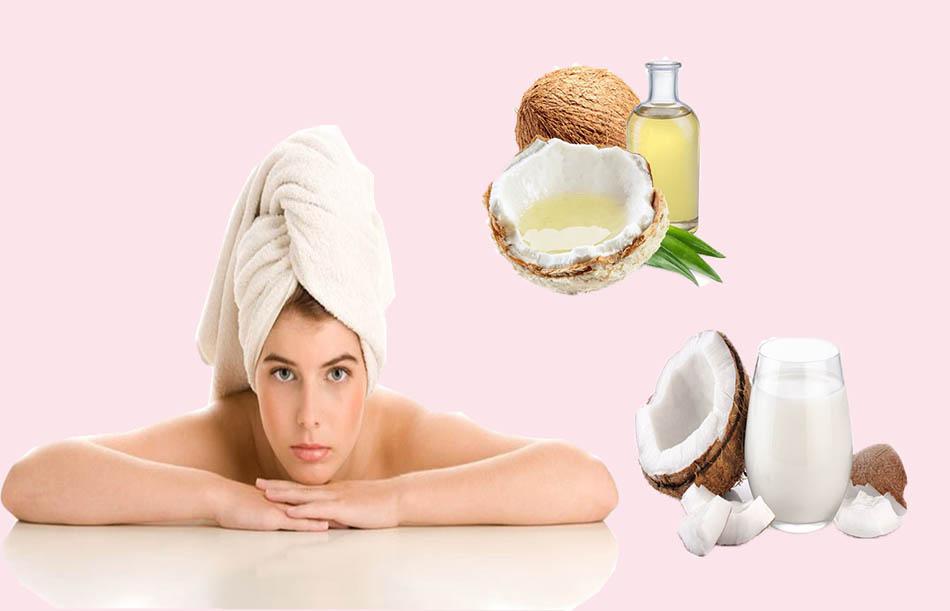 Quy trình ủ tóc bằng dầu dừa