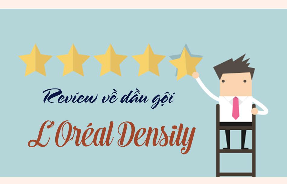 Review Dầu gội L'Oréal Density