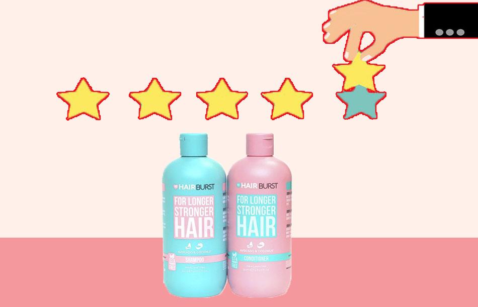 Review về dầu gội Hairburst
