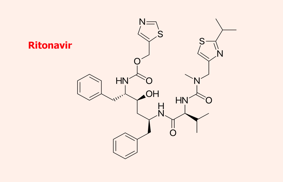 Công thức Hoạt chất Ritonavir