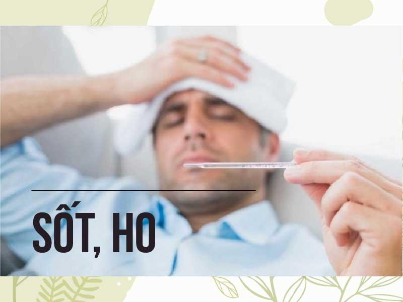 """Sốt, ho là triệu chứng thường gặp ở giai đoạn """"cửa sổ"""" của HIV"""