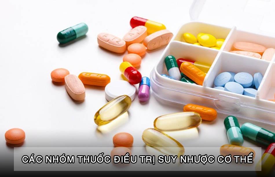 Thuốc điều trị suy nhược cơ thể