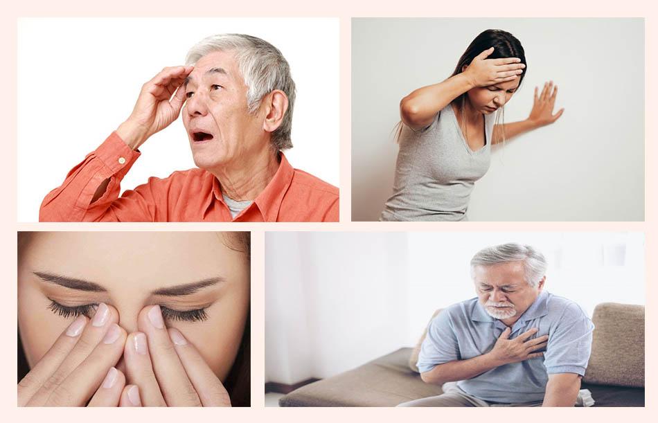 Triệu chứng của bệnh tai biến mạch máu não