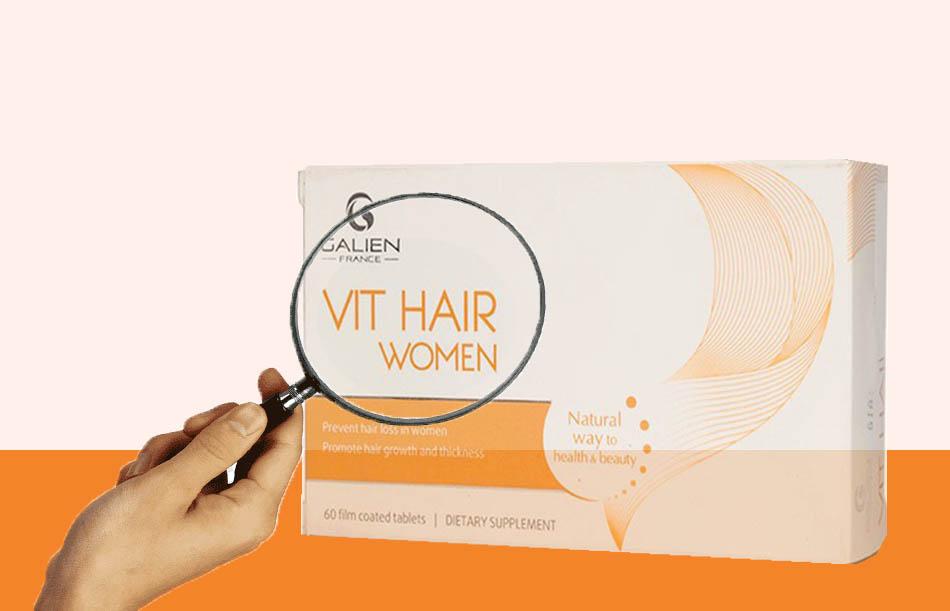 Thông tin về sản phẩm Vit Hair Women