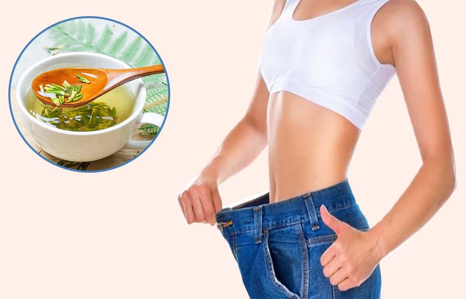 Uống tâm sen có giảm cân không?