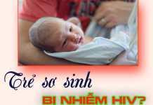 Trẻ sơ sinh bị nhiễm HIV