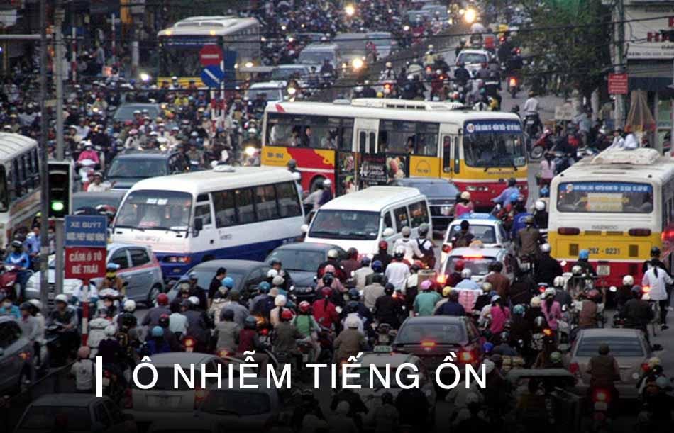 Ô nhiễm tiếng ồn là một nguyên nhân gây ù tai