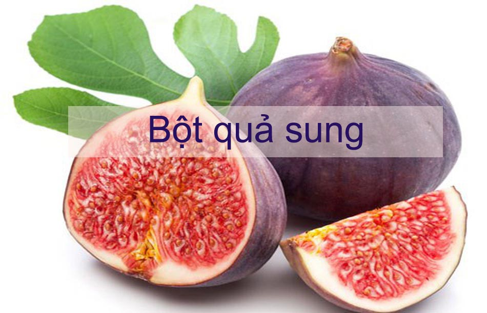 Bột quả sung