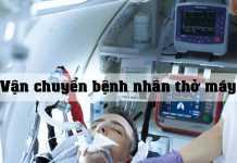 Vận chuyển bệnh nhân thở máy