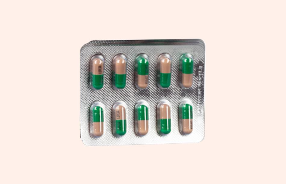 Thuốc Eldoper được bào chế ở dạng viên nang và được sử dụng đường uống