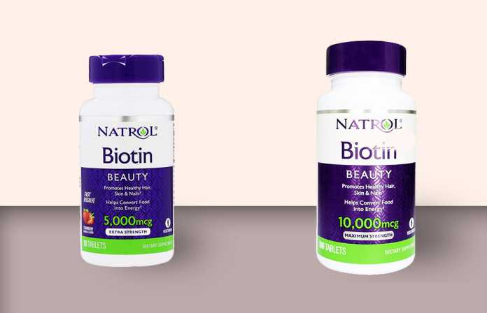 Viên uống mọc tóc Biotin của Natrol