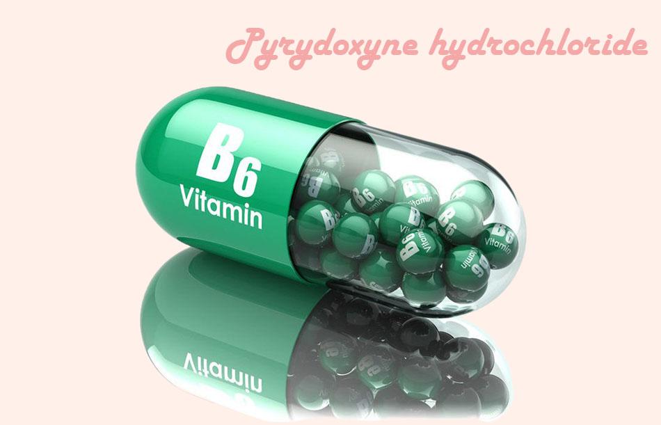 Thành phần Pyridoxine hydrochloride ( Vitamin B6) có trong thuốc Philiver