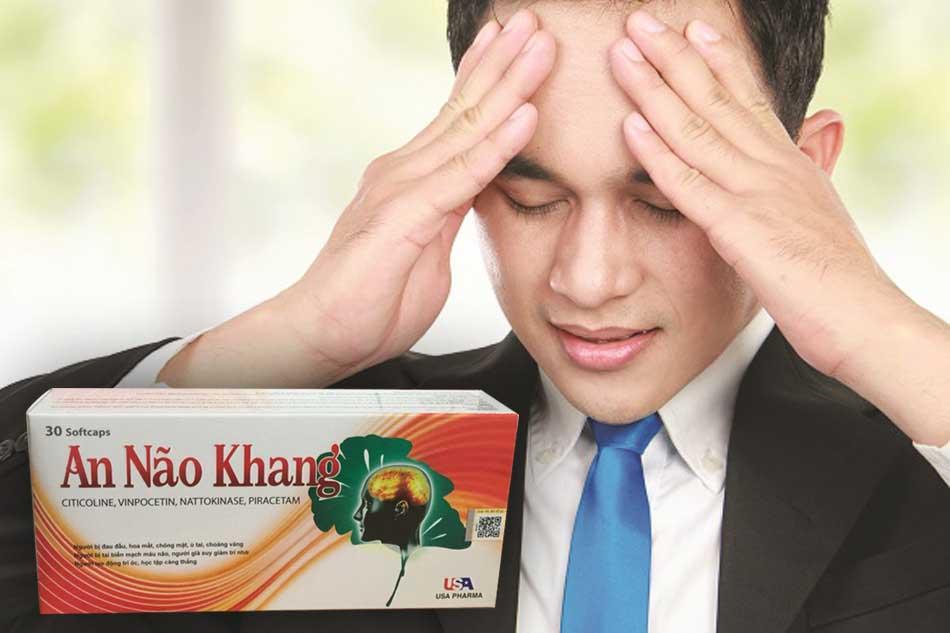An Não Khang tăng cường tuần hoàn máu não