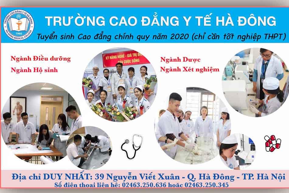 Thông tin tuyển sinh Trường Cao đẳng Y Tế Hà Đông