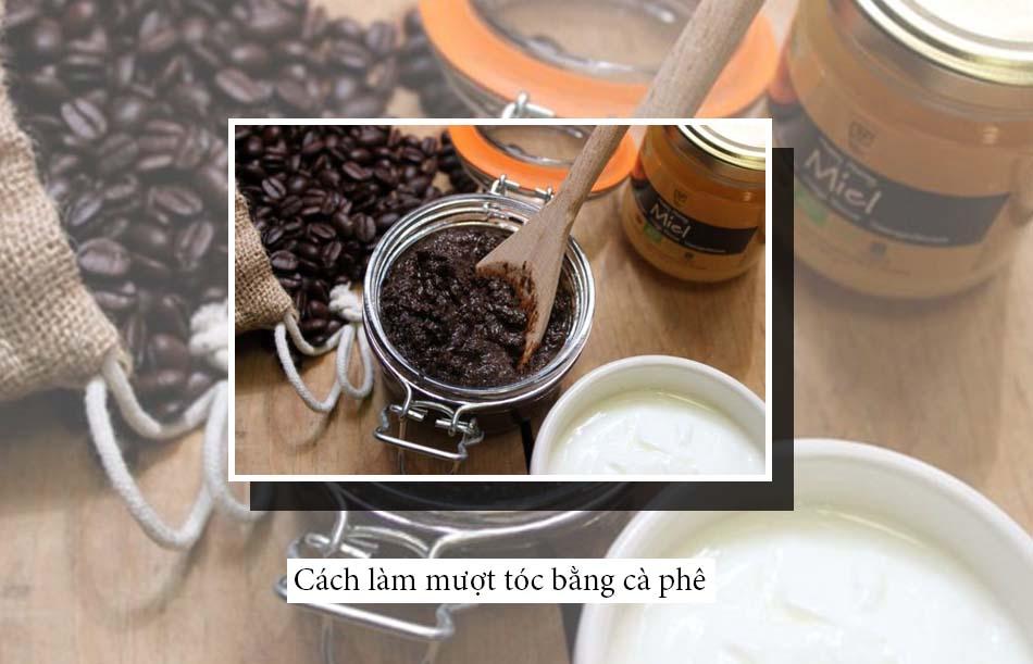 Cách làm mượt tóc bằng cà phê