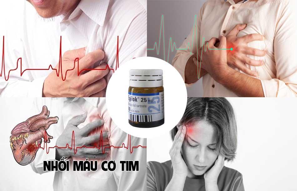 Thuốc Egilok điều trị một số bệnh về tim, mạch