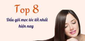 Top các dầu gội mọc tóc hot nhất