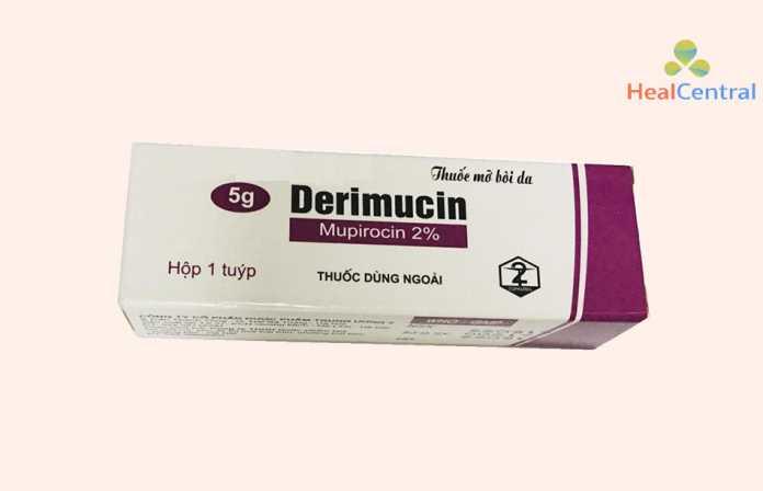 Thuốc bôi da Derimucin