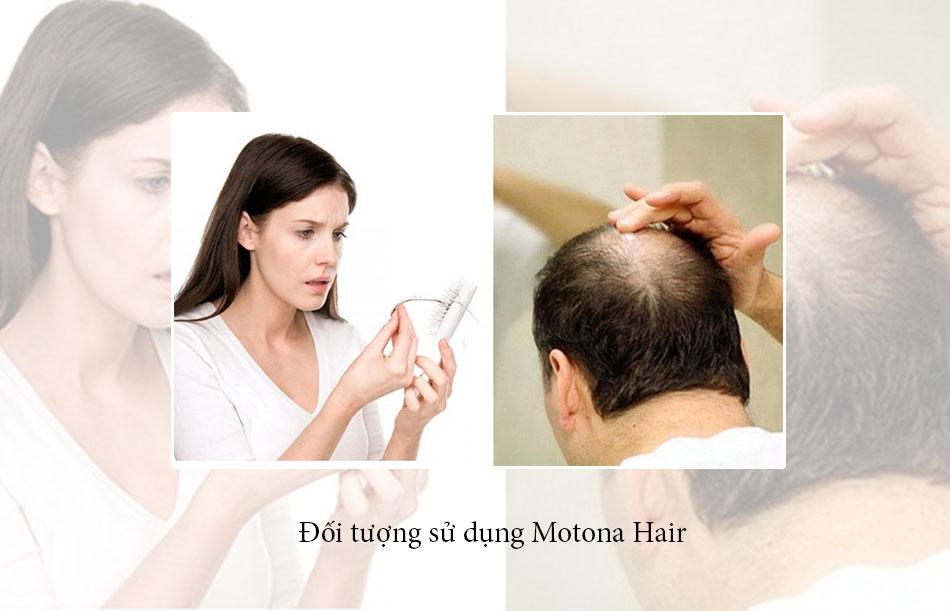 Đối tượng sử dụng của Motona Hair
