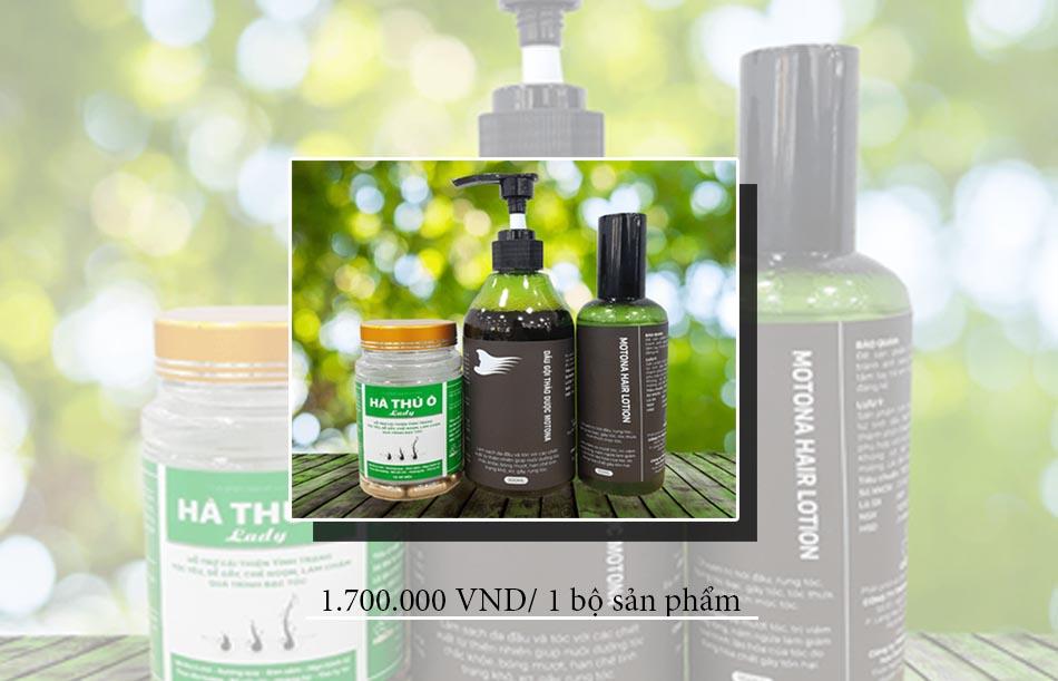 Giá của bộ sản phẩm Motona Hair