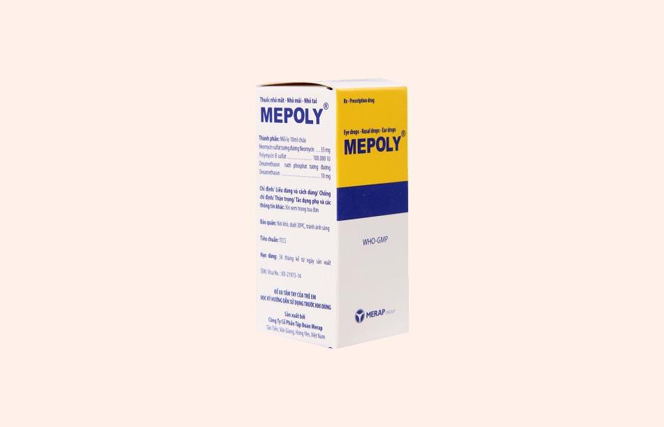 Cách dùng thuốc Mepoly