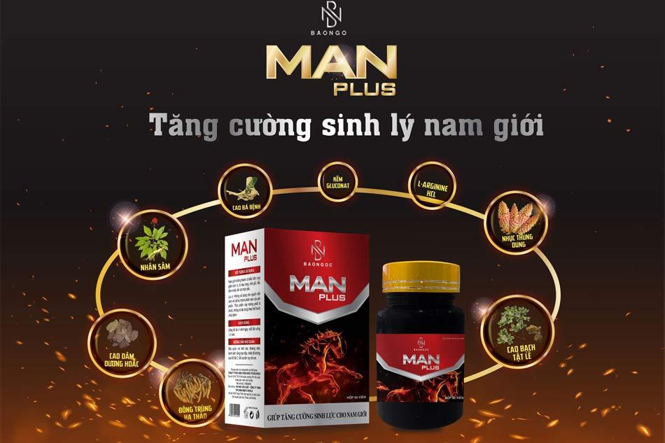 Các thành phần thảo dược có trong viên uống Manplus