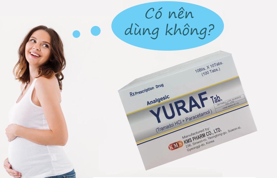 Phụ nữ có thai không nên dùng Yuraf