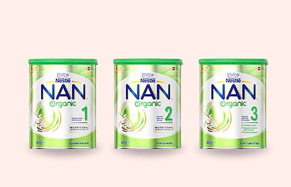 Sữa Nan Organic của Nestle