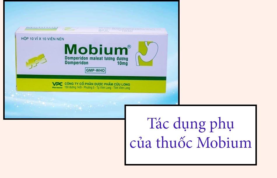 Tác dụng phụ của thuốc Mobium