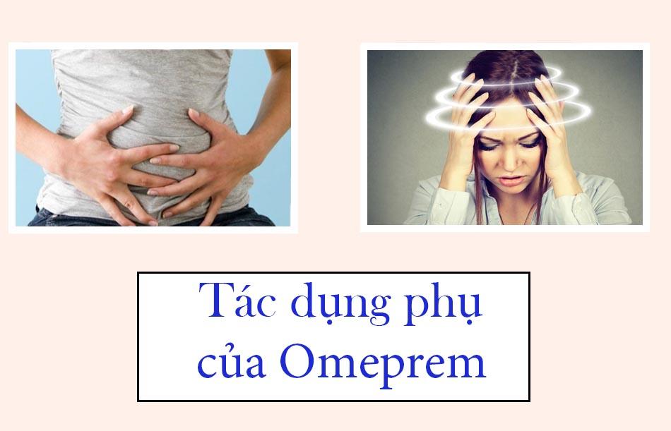 Tác dụng phụ của thuốc Omeprem
