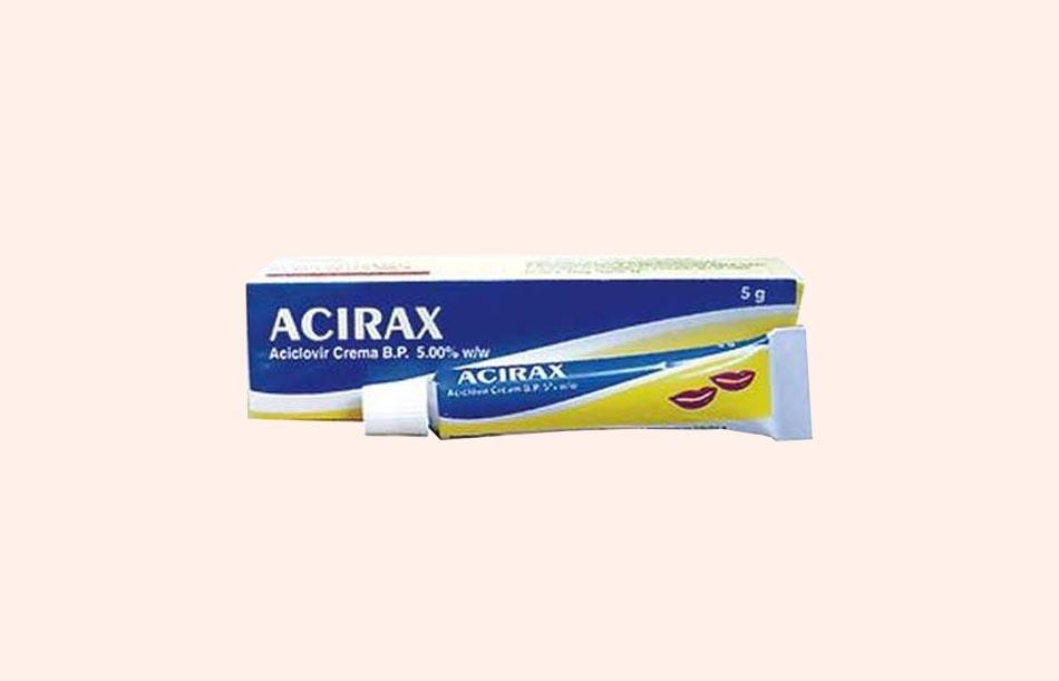 Thuốc Acirax cream