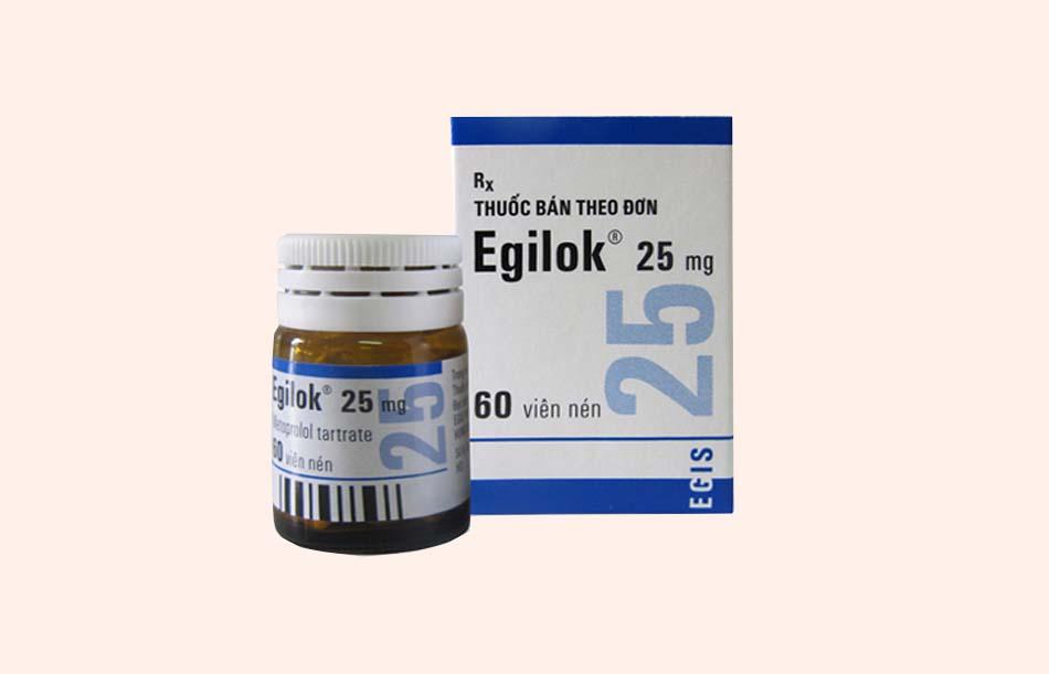 Thuốc Egilok 25mg