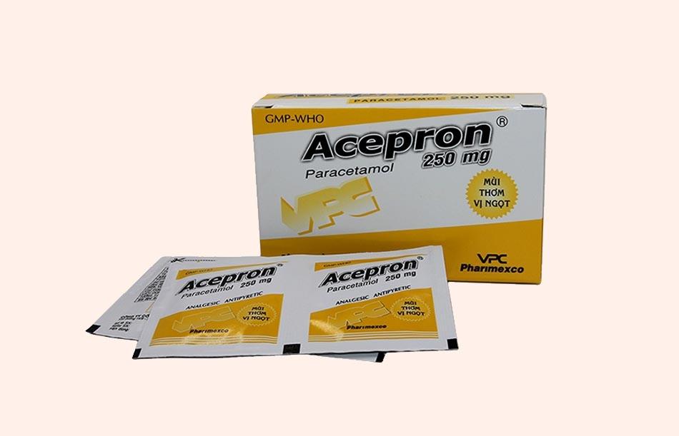 Thuốc bột Acepron 250mg