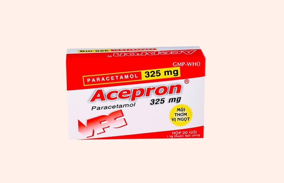 Thuốc bột Acepron 325mg